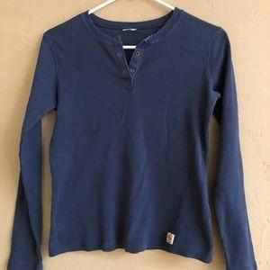 Carhartt thermal shirt ladies S-M